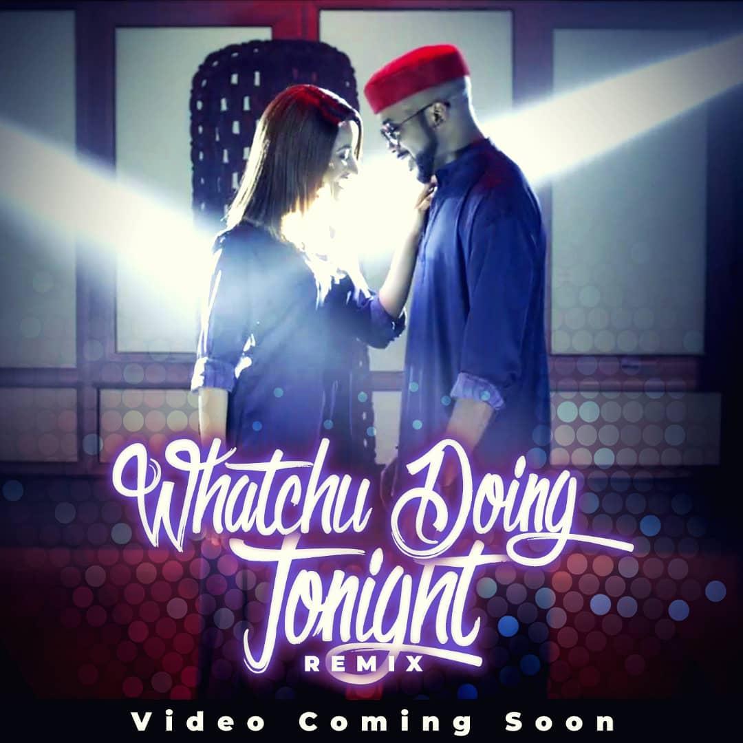"Banky W & Adesua Etomi set to release New Music Video ""Whatchu Doing Tonight"" 💕"