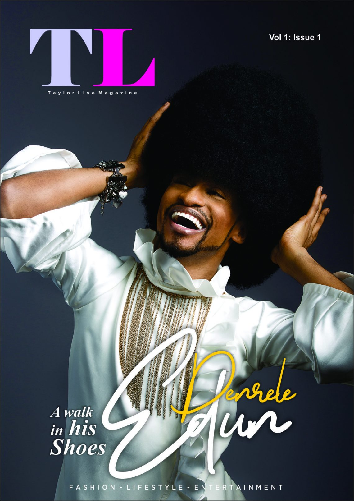TL Magazine Cover Star Denrele Edun A Walk In His Shoes