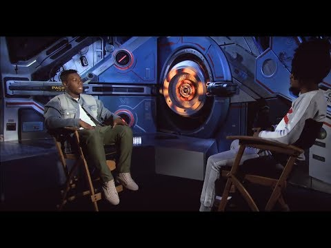 """I've always been a fan of his music – John Boyega on using Wizkid's song on """"Pacific Rim""""   WATCH"""