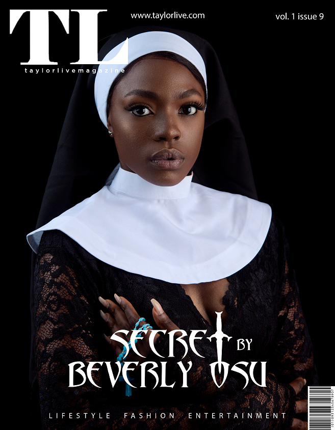 CONFESSION! Beverly Osu Covers Taylor Live Magazine's Latest Issue