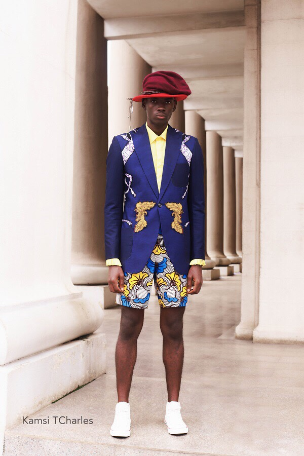 Kamsi Tcharles presents S/S19 collection titled Church Science